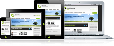 Responsive webdesign, création de sites internet par l'agence web CVMH Solutions
