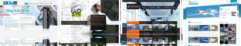 Création site vitrine, agence web