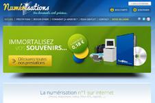 Création du site marchand numerisations