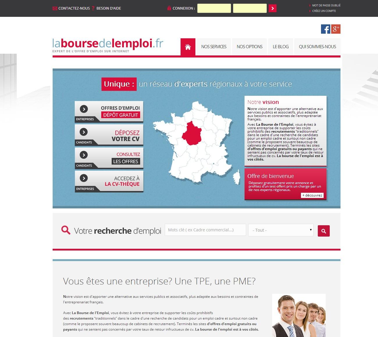 Site internet et référencement laboursedelemploi