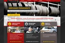 Un site wordpress pour Dem's Auto (Chartres)
