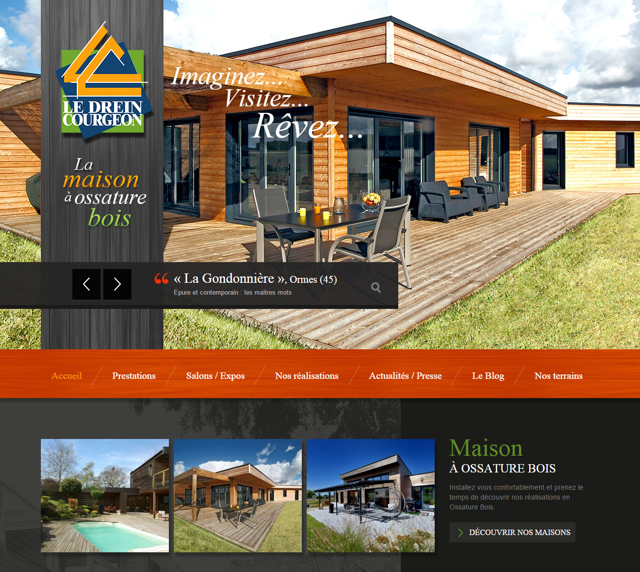 ledrein-courgeon site wordpress