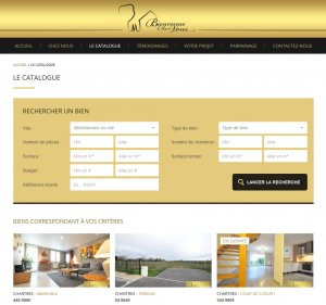 Site immobilier WordPress