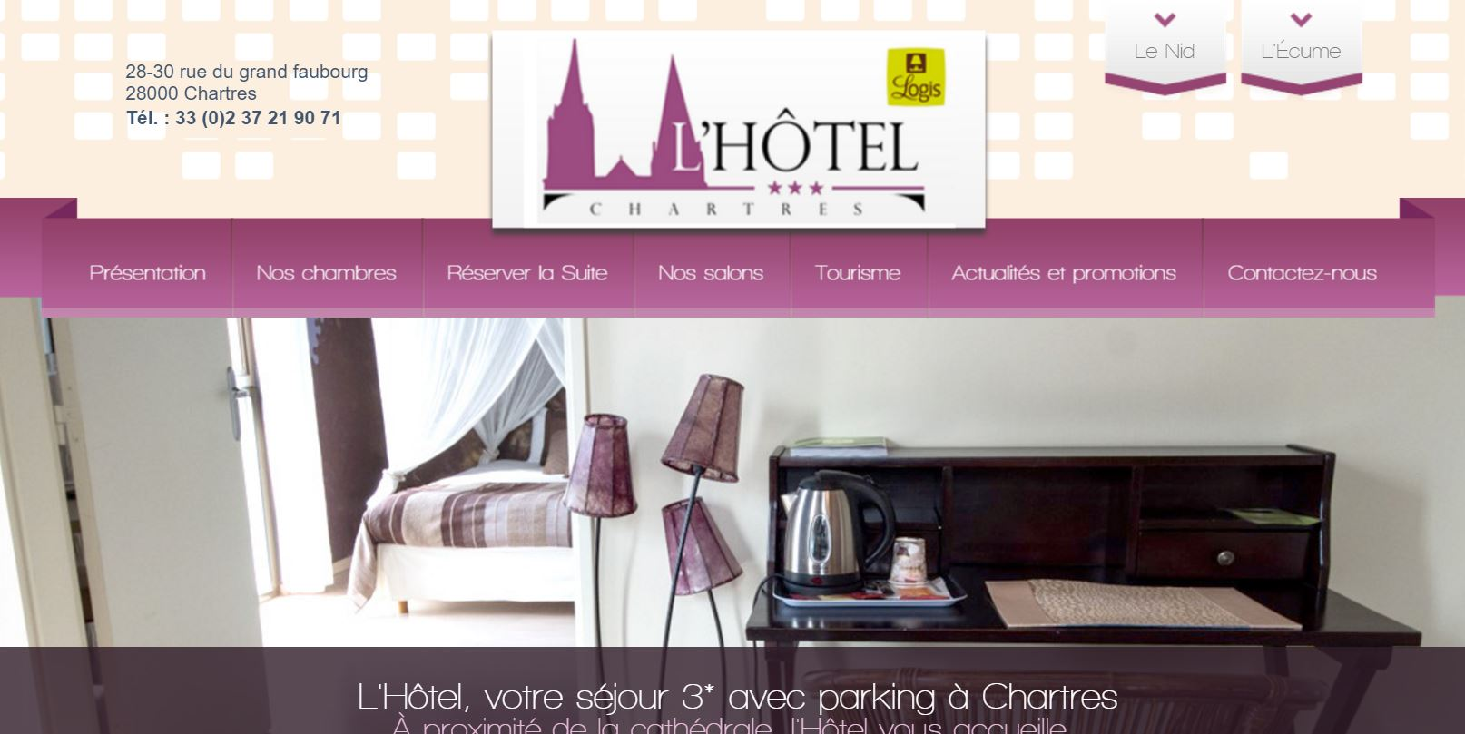 L'Hôtel à Chartres